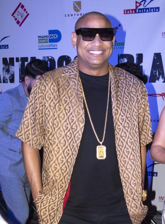 El cantante cubano Alexander Delgado