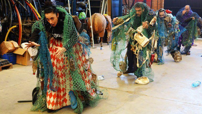 Distopía es la segunda producción de Escandall Teatral