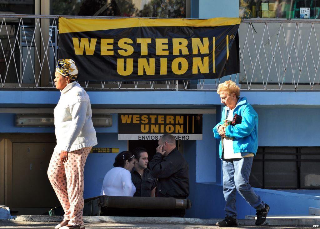 Western Union ya tiene un servicio de envío de remesas a Cuba desde Estados Unidos