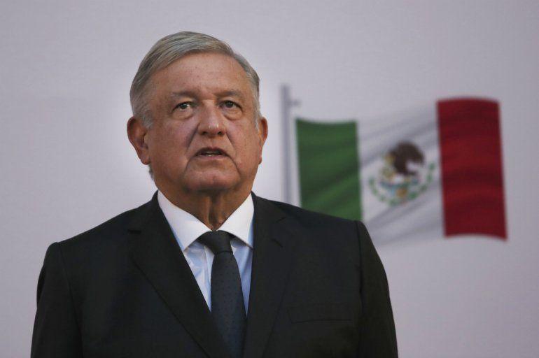 El presidente mexicano Andrés Manuel López Obrador encabeza la ceremonia por el segundo año de su presidencia país