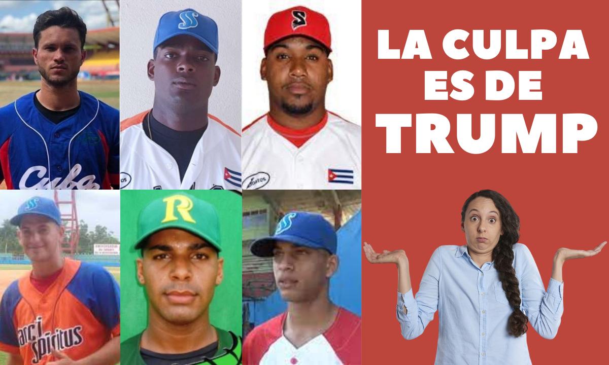 Seis peloteros cubanos se fugan del mundial sub-23 y el régimen culpa a Trump