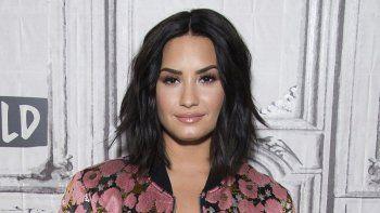 En esta foto del 20 de marzo del 2017, Demi Lovato participa en la serie de charlas BUILD Speaker Series para hablar de Smurfs: The Lost Village en Nueva York.