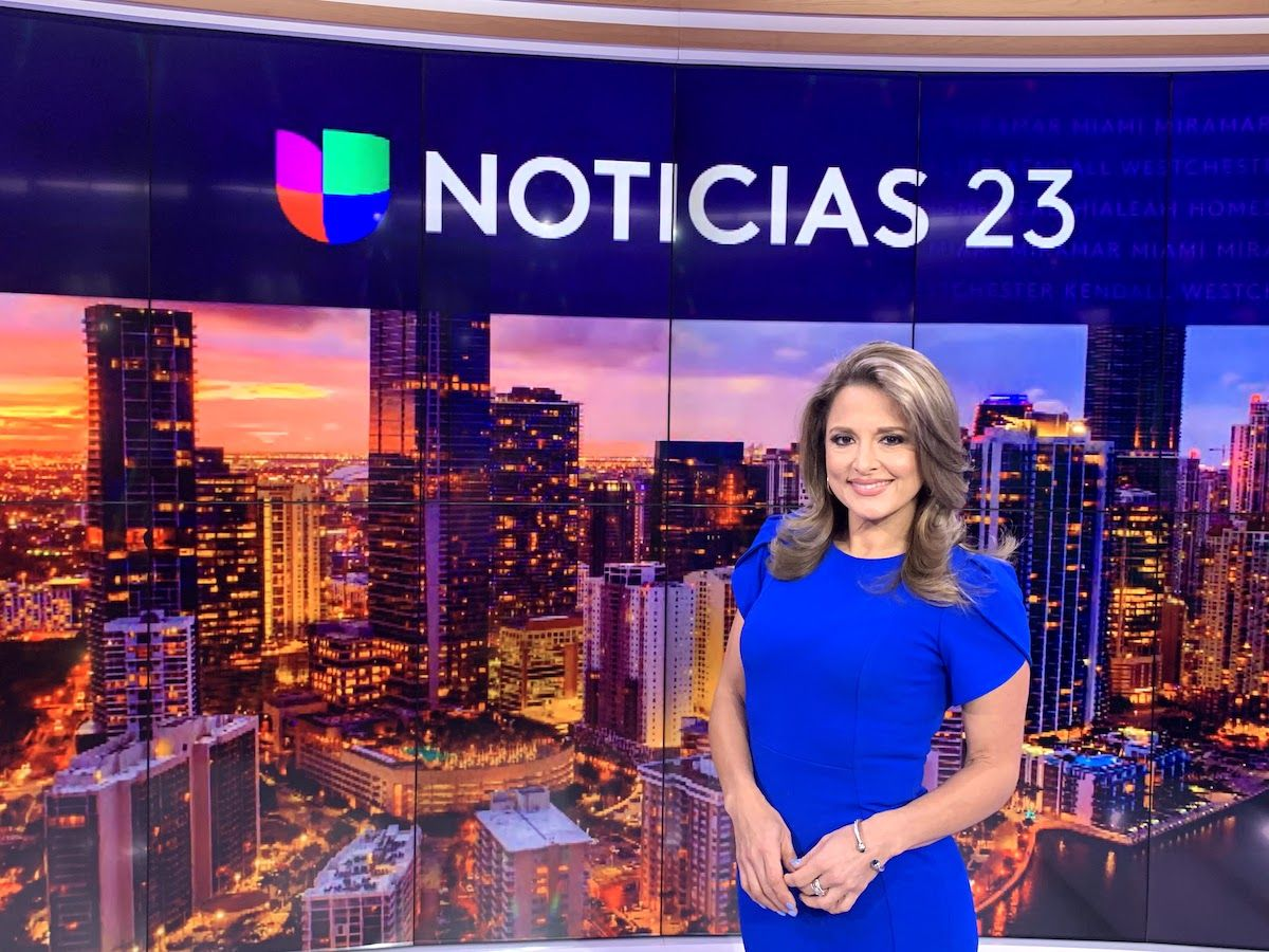 La periodista María Fernanda López.
