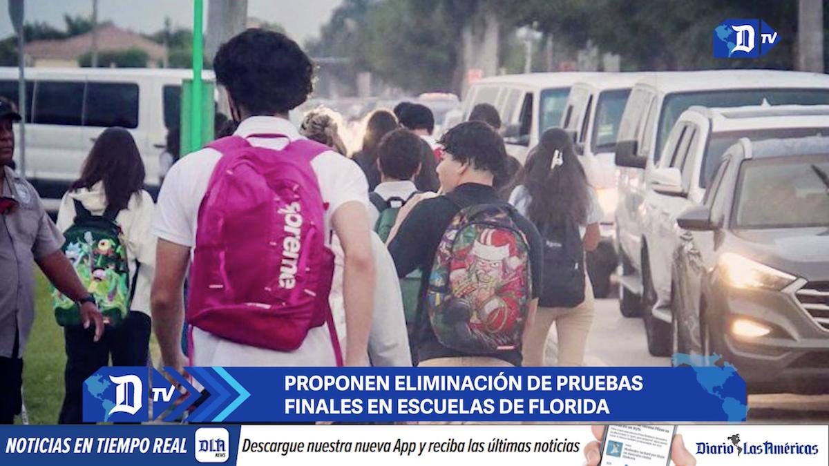 proponen eliminacion de pruebas finales en escuelas de florida