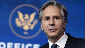 El nuevo secretario de Estado de Estados Unidos, Antony Blinken inició por Canadá, México, Japón y Corea del Sur su ronda de llamadas internacionales
