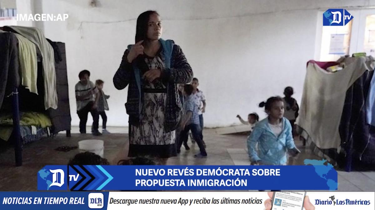 nuevo reves democrata sobre propuesta inmigracion