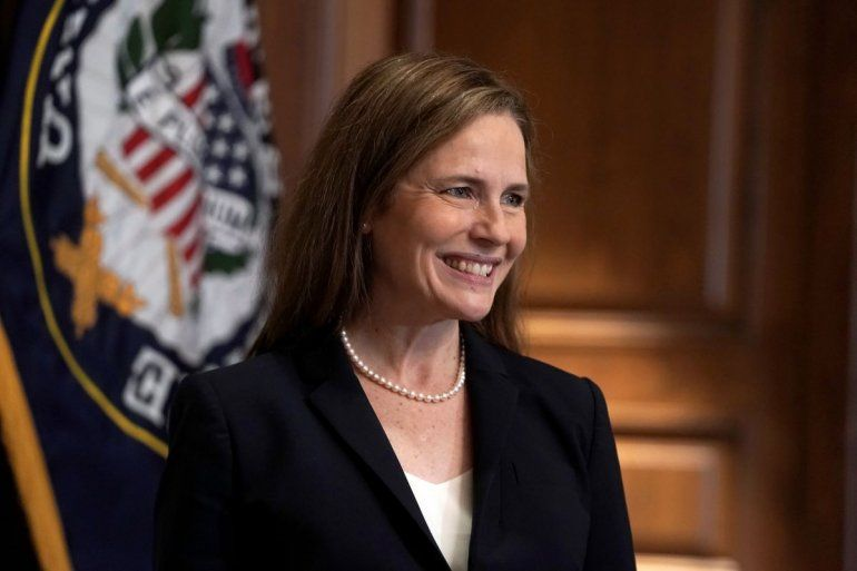 La jueza Amy Coney Barrett