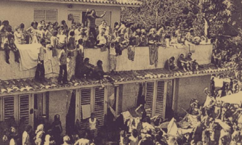 Los sucesos de la Embajada de Perú, en La Habana ocurridos en abril de 1980, constituyen el mayor fenómeno de asilo y refugio bajo protección diplomática que se conozca