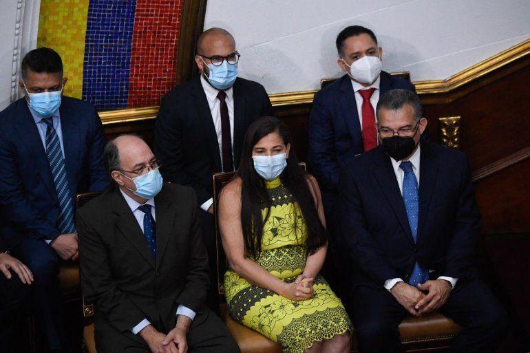 Los recién nombrados Rectores del Consejo Nacional Electoral de Venezuela (CNE)