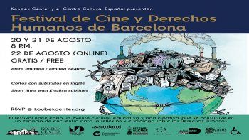 El Koubek Center del Miami Dade College (MDC) y el Centro Cultural Español en Miami (CCEMiami) presentarán una selección de películas del 17 Festival de Cine y Derechos Humanos de Barcelona.