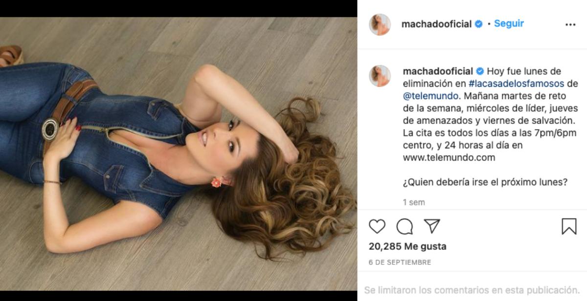 Miss Universo 1996, Alicia Machado.