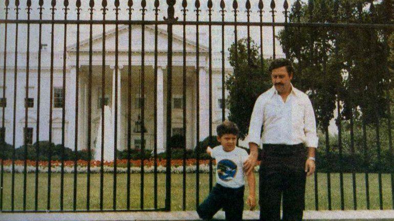 La vida normal de Juan Pablo Escobar y su familia se terminó