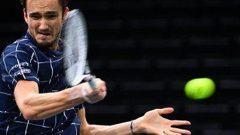 Alexander Zverev jugará en su grupo del Masters contra el serbio Novak Djokovic, el ruso Daniil Medvedev y el argentino Diego Schwartzman