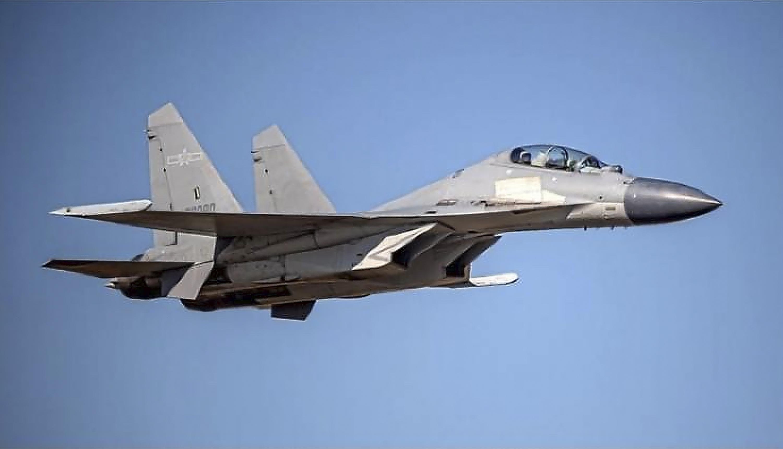 Taiwán acusa a China de incursión récord de aviones militares