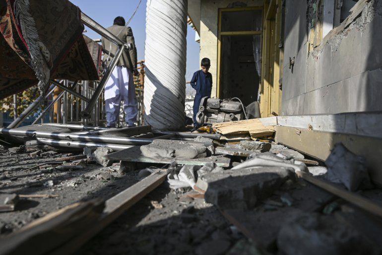 Al menos ocho personas murieron y 31 resultaron heridas este sábado en un ataque con cohetes