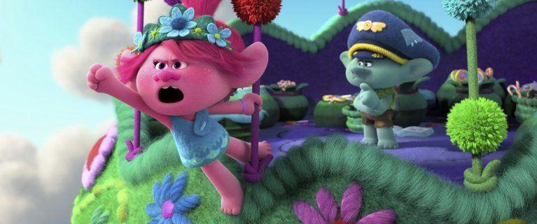 En esta imagen difundida por DreamWorks Animation