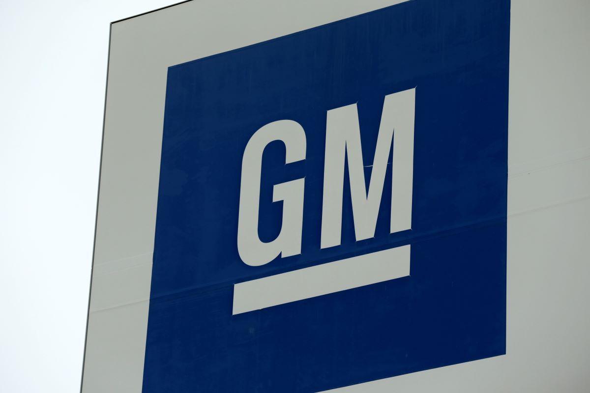 Logo de la compañía General Motors.