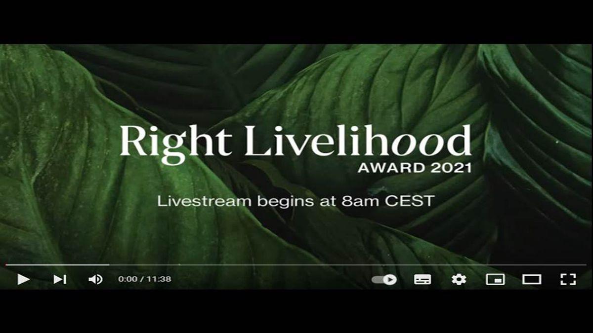 El premio Right Livelihood 2021, considerado un Nobel alternativo, fue concedido este miércoles, 29 de septiembre de 2021, a tres activistas ecologistas en Rusia, India y Canadá.