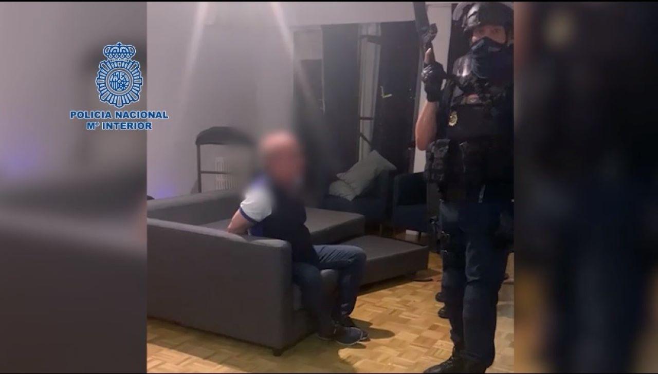 Imagen de la detención de Hugo Carvajal.