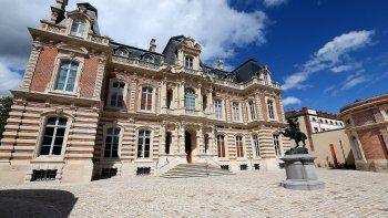 En esta foto de archivo tomada el 25 de mayo de 2021 se muestra una vista del castillo de Perrier, que alberga el Museo de Arqueología Regional y Vino de Champaña en Epernay.