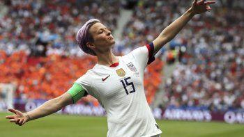 La campeona del mundo, EEUU, con goles de Megan Rapinoe, Christen Press y Lindsey Horan, derrotó a Japón 3-1 en el partido de clausura del torneo round robin del 2020 para levantar el trofeo.