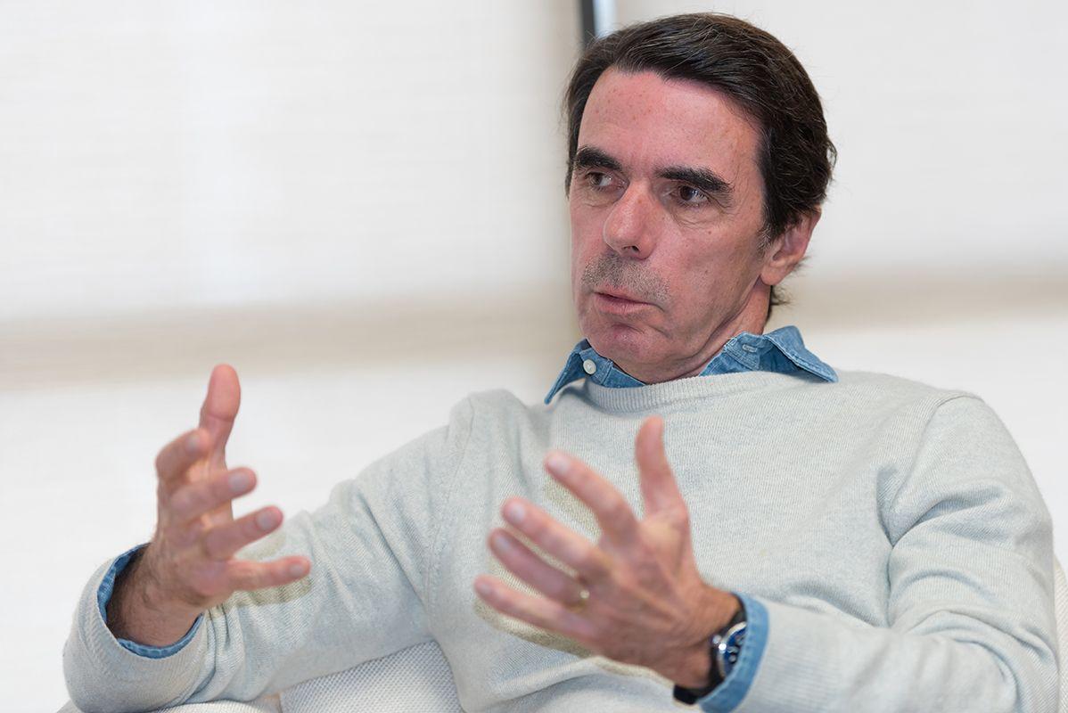 El expresidente español José María Aznar aseguró que los sistemas democráticos no tienen por qué aceptar a aquellos que los quieren destruir
