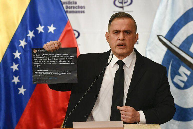 El fiscal del régimen de Nicolás Maduro