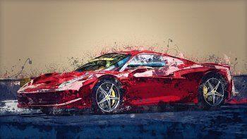 Imagen referencial. Epic Games está lanzando un modelo altamente realista de un automóvil deportivo Ferrari para que los jugadores lo usen en Fortnite.