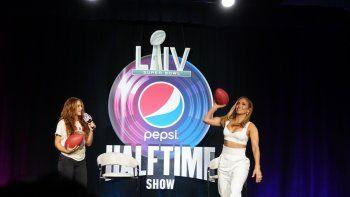 Las superestrellas Shakira y Jennifer López serán las encargadas del show de medio tiempo del Super Bowl 54, en el Hard Rock Stadium, en Miami.