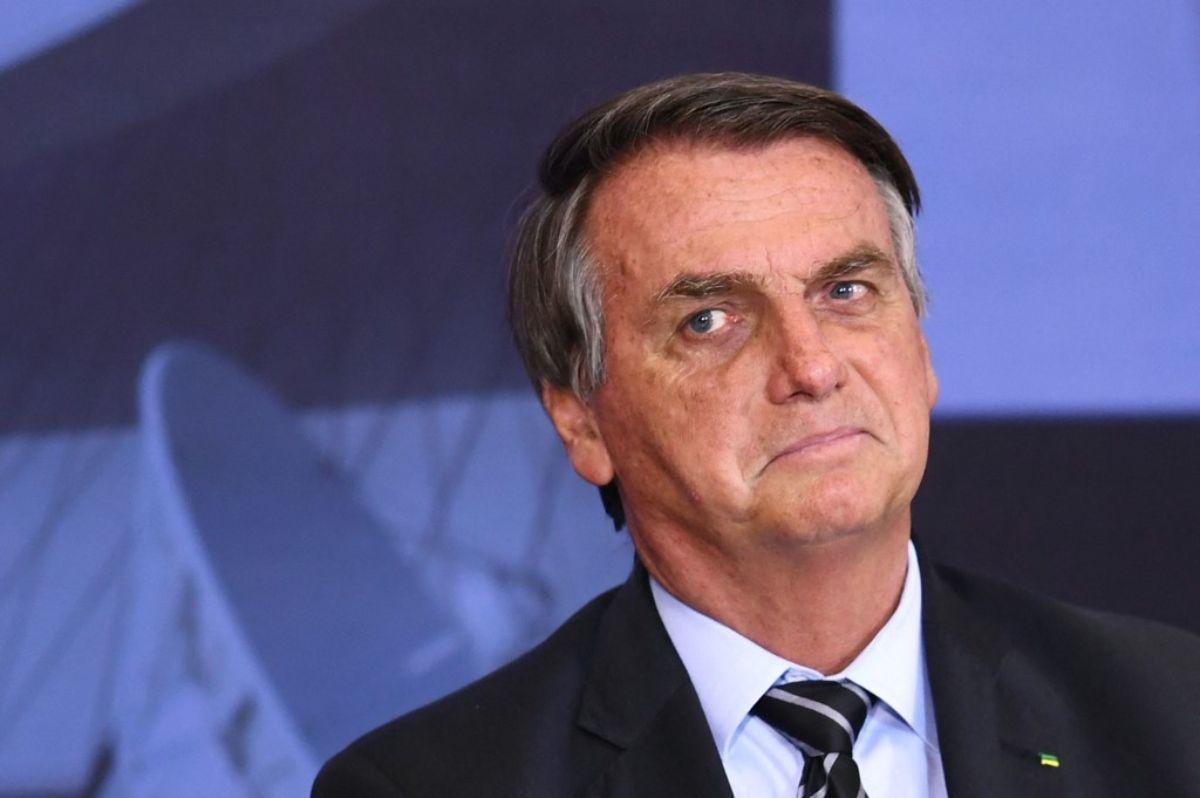 El presidente de Brasil. Jair Bolsonaro.