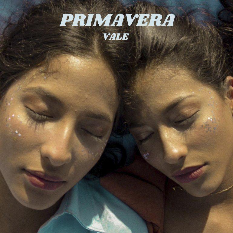 La portada de Primavera el primer sencillo del dúo de hermanas gemelas colombianas Vale