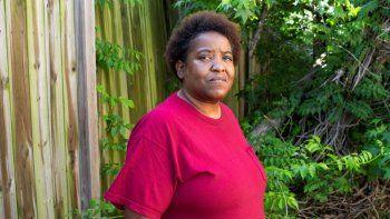 Letitia Sanabria, en una foto en Baton Rouge, Luisiana, el 2 de mayo de 2021. Ella es una de las beneficiadas del Bail Project, un proyecto que ayuda a personas de bajos ingresos a salir de la cárcel con fianzas.