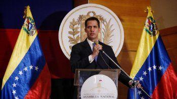 Juan Guaidó, presidente (e) de Venezuela y presidente de la Asamblea Nacional legítima, inicia un periodo extendido de su mandato en el parlamento.