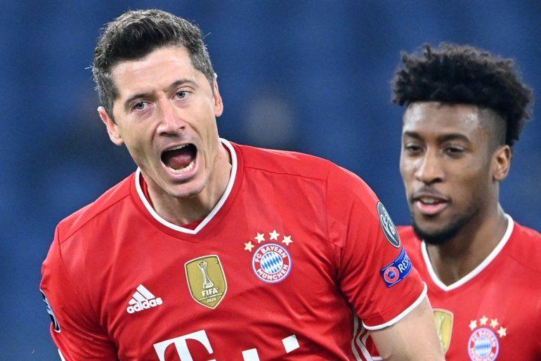 El delantero polaco del Bayern de Múnich