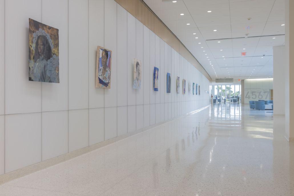 Oolite Arts se asocia con el Mount Sinai Medical Center para honrar a 30 héroes de la salud en primera línea de la pandemia con obras de cinco artistas de Miami.