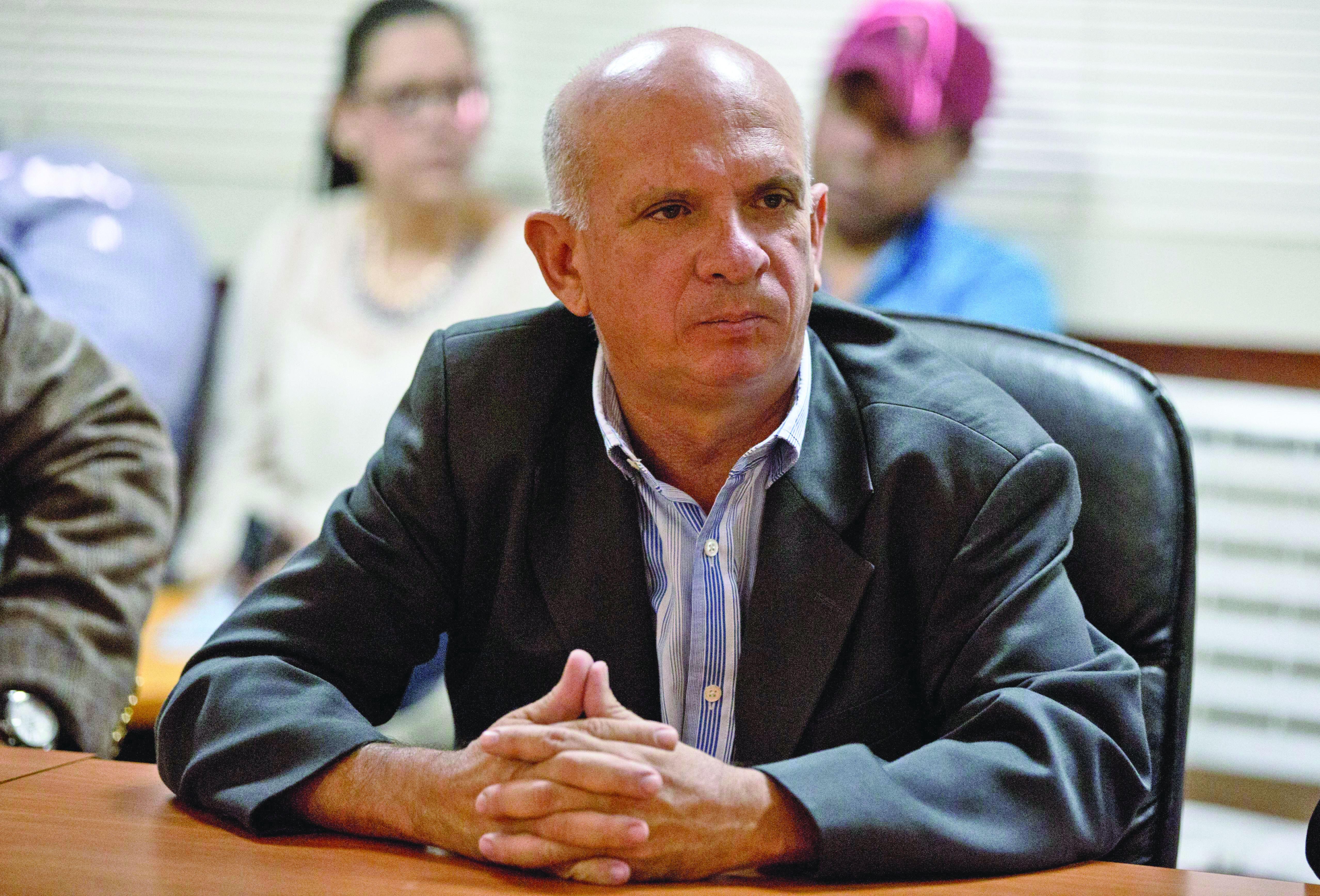 El venezolano Hugo Armando Carvajal Barrios, alias El Pollo, exgeneral de la Fuerza Armada Nacional Bolivariana (FANB). Fotografía del 20 de enero de 2016.