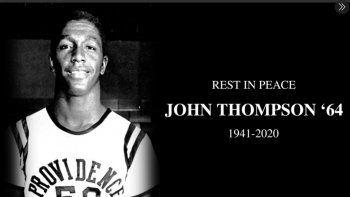 Thompson, quien fue incluido en el Salón de la Fama en 1999, fue un pionero al que se le atribuye haber abierto la puerta a una generación de entrenadores minoritarios.