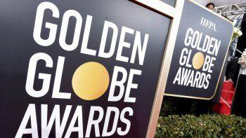 La señalización de los Golden Globes aparece en la alfombra roja en la 76 entrega anual de lospremios el 6 de enero de 2019, en Beverly Hills, California.Un reportero de entretenimiento noruegodemandaa la Asociación de Prensa Extranjera de Hollywood.