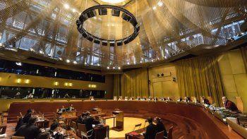 Justicia europea devuelve al Tribunal General de la UE caso sobre Venezuela