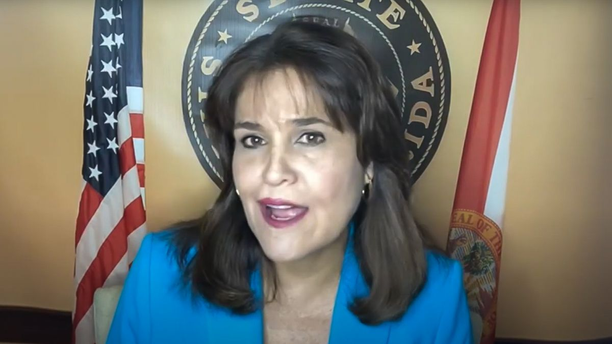 La senadora estatal Annette Taddeo.