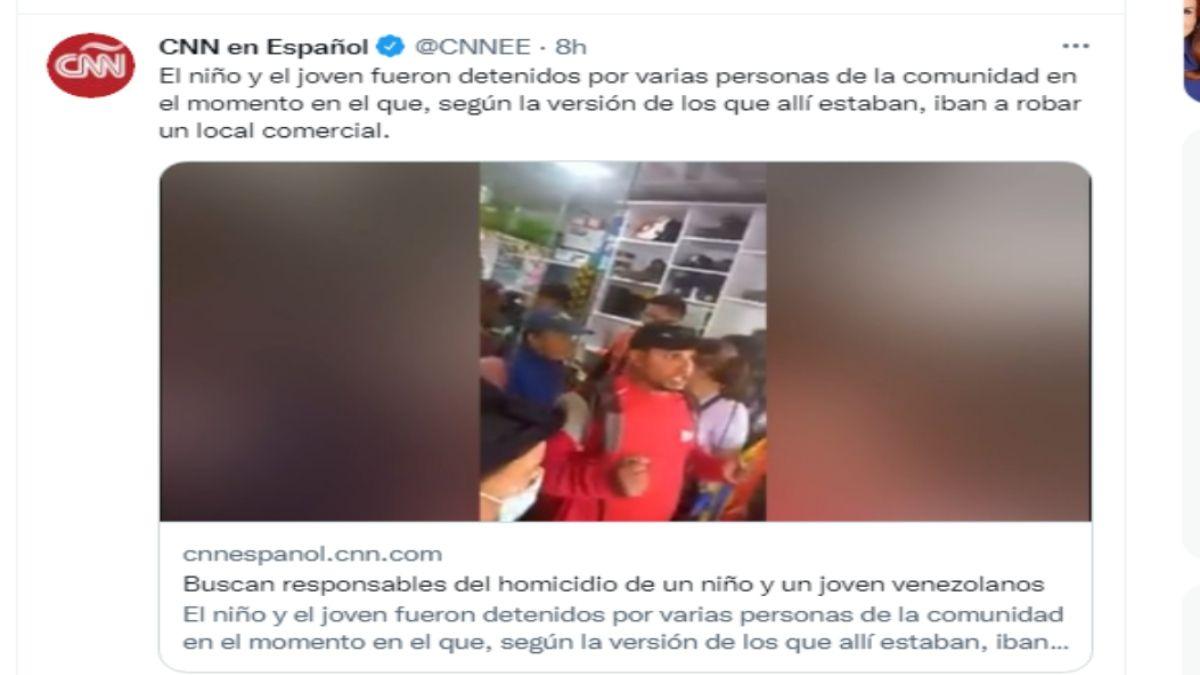 Un niño y un joven venezolanos, de 12 y 18 años de edad, respectivamente, fueron asesinados en el municipio Tibú del departamento Norte de Santander. La Policía ofreció una recompensa de $26.500 a quien aporte información que conduzca a la captura de los responsables.
