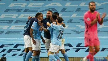 Vencedor 2-1 en la ida enMadriden febrero, antes del parón del fútbol por el coronavirus, el City se impuso 4-2 en el global de la eliminatoria, para continuar su camino a cuartos, donde le espera el Olympique de Lyon, el viernes de la próxima semana en Lisboa.
