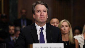 Brett Kavanaugh, el nominado por el presidente Donald Trump para el Tribunal Supremo, testifica ante la audiencia del Comité Judicial del Senado el jueves 27 de septiembre de 2018.
