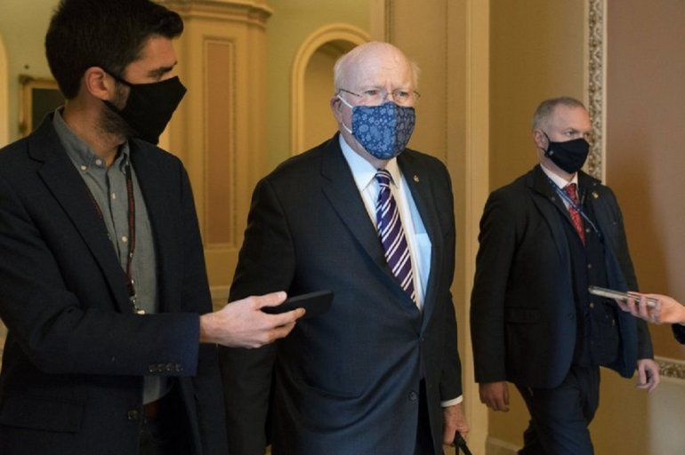 El senador demócrata Patrick Leahy