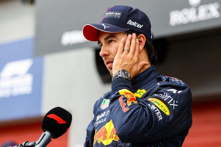 El piloto mexicano de Red Bull