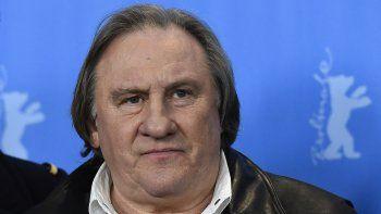 En esta foto de archivo tomada el 19 de febrero de 2016, el actor francés Gerard Depardieu llega para un photocall de la película Saint Amour en competencia del 66 ° Festival de Cine de la Berlinale en Berlín.