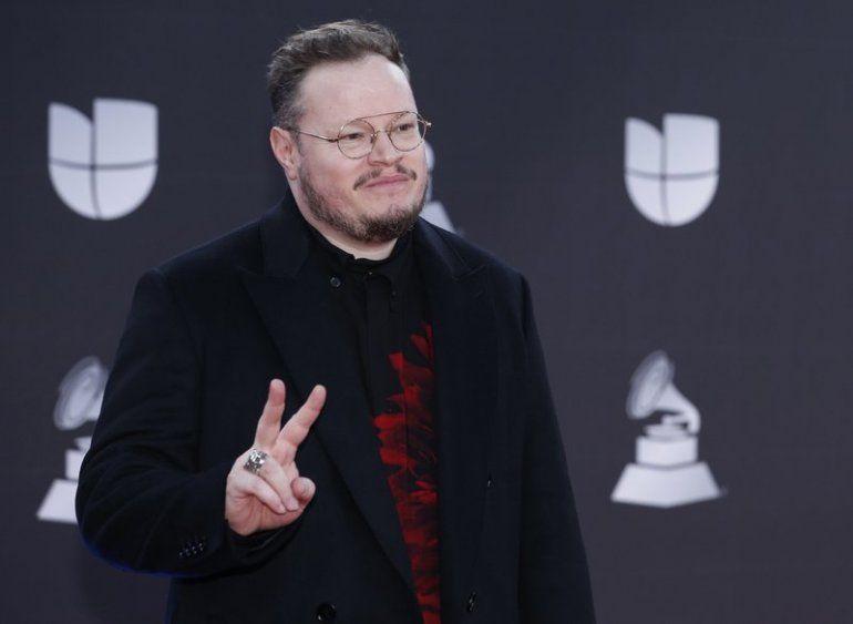 Leonel García llega a la 20 entrega anual de los Latin Grammy en Las Vegas en esta foto del 14 de noviembre del 2019. García lanzó el álbum Amor pasado.