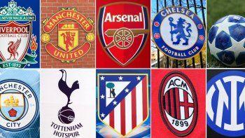 Los nueve clubes que renunciaron al proyecto de nueva competición (Tottenham, Arsenal, Manchester City, Manchester United, Chelsea, Liverpool, Atlético de Madrid, Inter de Milán y AC Milan) aceptaron una serie de medidas de reintegración