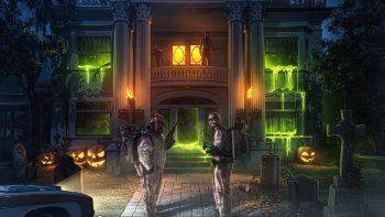 En esta imagen proporcionada por Rich Music Inc., la portada para la canción La Luz, una colaboración entre J Balvin y Sech que se estrena el sábado 31 de octubre del 2020, el día de Halloween.
