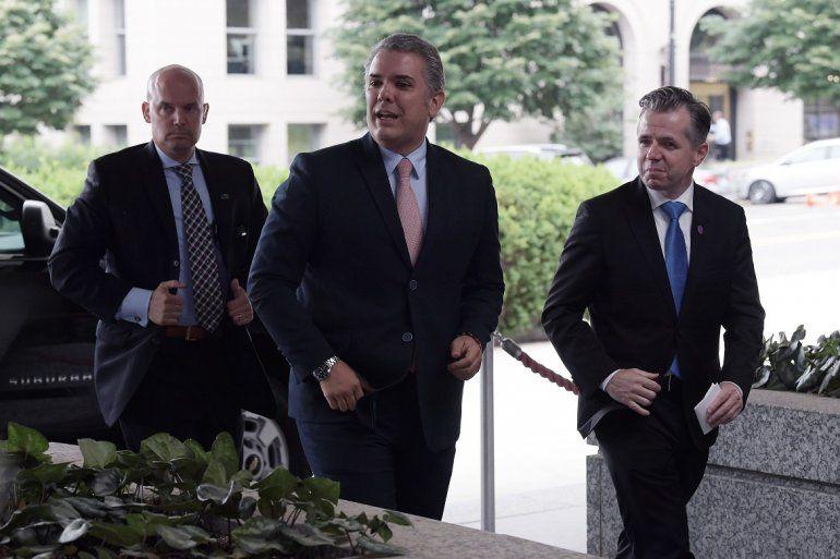 El presidente electo de Colombia